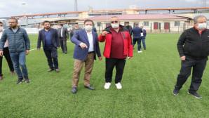 Milletvekili Başer: Stadyum yıkılıp yeniden yapılacak