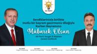 AK Parti Yozgat İl Başkanı Dursun ve Teşkilatlarından bayram mesajı