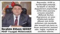 MHP Yozgat Milletvekili Sedef'ten bayram mesajı