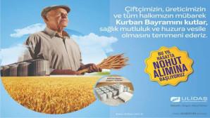 ULİDAŞ Tarım Ürünleri Lisanslı Depoculuk San. ve Tic.A.Ş.'den bayram mesajı