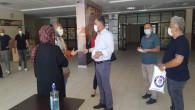 Eğitim Bir Sen'den eğitim camiasına maske dağıtımı
