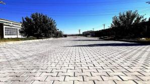 Yerköy'de yol yapım çalışmaları devam ediyor