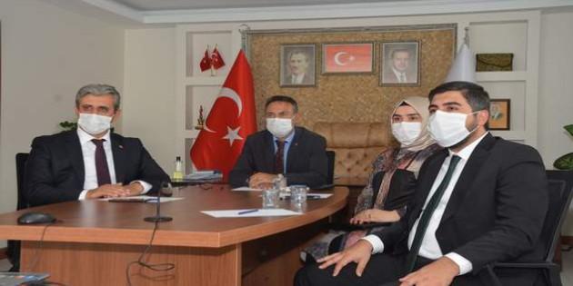 Başkan Köse ve AK Parti İl Teşkilatı Genişletilmiş İl Başkanları Toplantısına katıldı