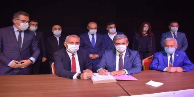Yozgat Belediyesinde toplu iş sözleşme sevinci