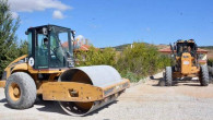 Yozgat Belediyesi yol yapım çalışmalarını sürdürüyor