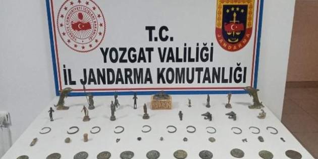 Tarihi eser operasyonunda 4 kişi tutuklandı