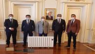 Yozgatlı genç girişimcilerden Vali Polat'a ziyaret