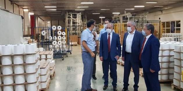 Rektör Karadağ'ın sektörel buluşmaları durağı Kayseri oldu