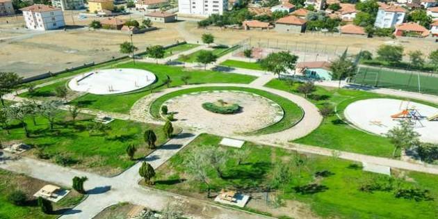 Sorgun Belediyesi atıl vaziyetteki alanı modern bir park haline dönüştürdü