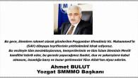 SMMMO Başkanı Bulut Yozgat halkının kandilini kutladı