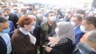 Akşener, Yozgat'ta esnaf ziyaretinde bulundu