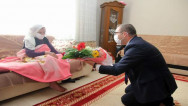 Vali Polat, 1923 doğumlu Cumhuriyet çınarlarını unutmadı