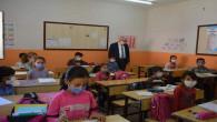 Yazıcı, köy okullarını ziyaret etti
