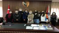 Hayvanseverler Kulübü öğrencilerinden Emniyet Müdürü Esertürk'e ziyaret