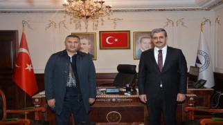 Başkan Köse, eski İl Başkanı Avşar'ı makamında ağırladı