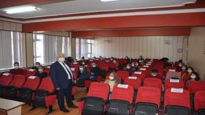 Yazıcı, Yozgat'a yeni atanan öğretmenlerle bir araya geldi