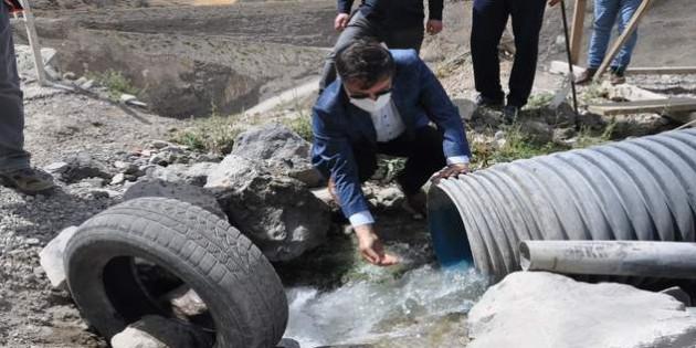 Milletvekili Başer: 18 yılda 200 Bin dekar araziyi suya kavuşturduk