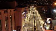 Yeni ışıklandırmalar şehre ayrı bir güzellik kattı