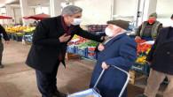 Başkan Köse semt pazarı esnafını ziyaret etti
