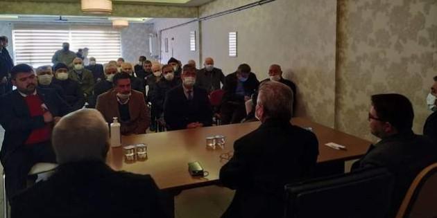 AK Parti Yozgat İl Teşkilatından ilçelerde istişare toplantısı