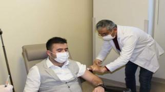 Koranavirüse karşı aşı uygulaması başladı