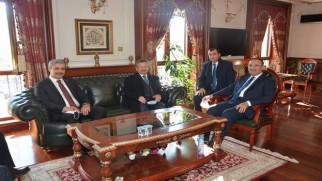 Bozdağ'dan Başkan Köse'ye ziyaret