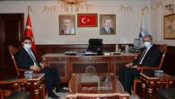 Başsavcı Hasan Uçak'tan Başkan Köse'ye ziyaret
