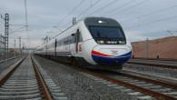 Hızlı Tren Yozgat istasyonundan geçti