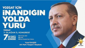 AK Parti 7. Olağan İl Kongresi 13 Ocak Çarşamba günü Rıza Kayaalp Spor Salonunda yapılacak