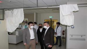 Yozgat Şehir Hastanesinde aşı odaları hazırlandı