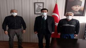 Aksaray SMMMO Başkanı Özkan'dan Başkan Bulut'a ziyaret
