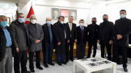 DEVA'dan İl Başkanı Başer'e hayırlı olsun ziyareti