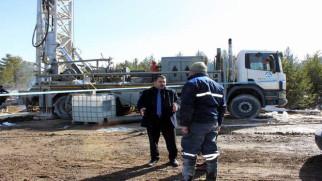 Akdağmadeni Belediyesi su sondaj çalışmasını sürdürüyor