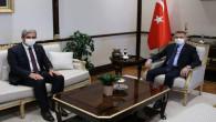 Başkan Köse'den Cumhurbaşkanı Yardımcısı Oktay'a ziyaret