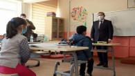 Yozgat'ta köy okullarında yüz yüze eğitime başlanıldı