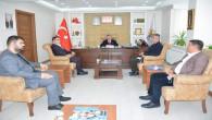 İlçe Başkanı Dereli'den İl Başkanı Başer'e ziyaret