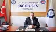 Erciyas: Sorumluluk sahiplerini sağlık çalışanlarımızın sorunlarını çözmeye davet ediyoruz
