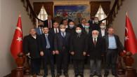 DUYKON ve İstanbul Yozgatlılar Federasyonu'ndan Başkan Köse'ye ziyaret