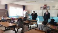 """Yazıcı'dan öğrencilere """"hoşgeldiniz"""" ziyareti"""