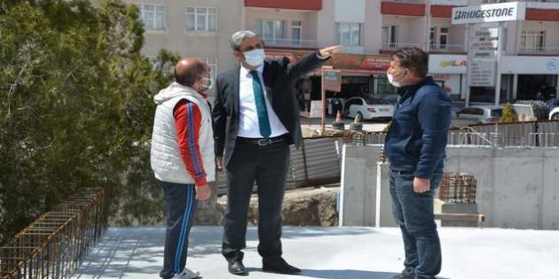 Başkan Köse'den projelere sıkı takip
