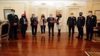 Polis Eşleri Derneğinden Vali Polat'a ziyaret