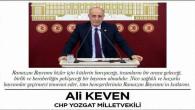 Milletvekili Keven Yozgat halkının Bayramını kutladı