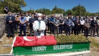 Vali Polat, Şehit'in vefat eden babasının cenazesine katıldı
