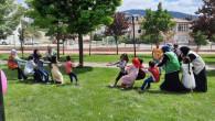 İHH Yozgat Şubesi çocukları sevindirdi
