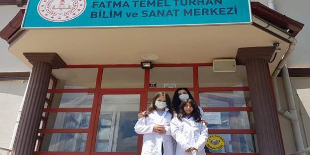 """BİLSEM Öğrencileri """"TUBİTAK"""" yarışmasına katıldı"""