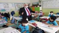Yazıcı, okul ziyaretlerini sürdürüyor