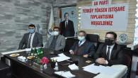 AK Parti Yerköy İlçe Teşkilatında İstişare toplantısı