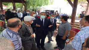 Bozdağ, Boğazlıyan'da vatandaşlarla bir araya geldi