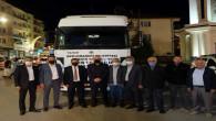 Akdağmadeni Belediyesi Yardım TIR'ı yola çıktı