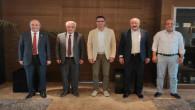Başkan Bulut ve yönetiminden TÜRMOB'a ziyaret
